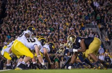 NCAA Football: Michigan at Notre Dame