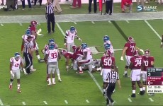Alabama vs Ole Miss 2015