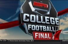 ESPN College Football Final 2015 – S1
