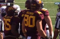 Minnesota vs Kent State 2015