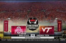 Ohio State @ Virginia Tech 2015
