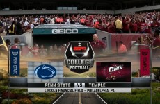 Penn State @ Temple 2015