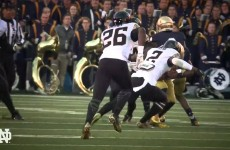 Inside Notre Dame Football : Wake Forest 2015