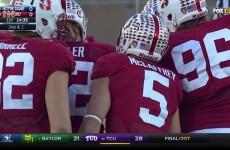Stanford vs Notre Dame 2015