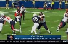 Carl Nassib – 2015 Nagurski-Woodson Defensive Player of the Year
