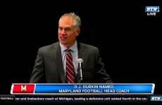 D.J. Durkin Named Maryland Football Coach
