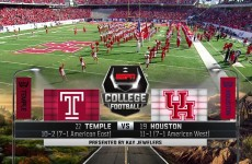 Houston vs Temple – AAC Championship Game 2015