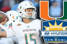 Miami Hurricanes to Sun Bowl: Canes' 2015 Defining Moment