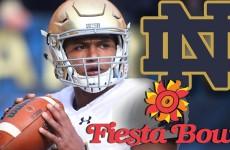 Notre Dame Fiesta Bowl Hype Video 2015
