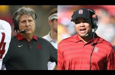 Pac-12 Co-Coaches of the Year 2015 : Mike Leach & David Shaw