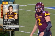 Cactus Bowl : Arizona State vs West Virginia 2016