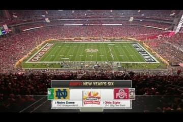 Fiesta Bowl : Notre Dame vs Ohio State