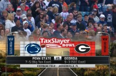 TaxSlayer Bowl : Georgia vs Penn State 2016