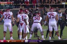Texas Tech vs Oklahoma 2016