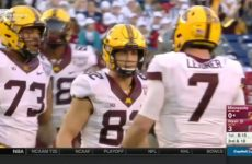 Holiday Bowl : Minnesota vs Washington State 2016